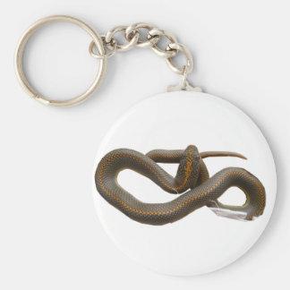 AHS Classic Button Keychain