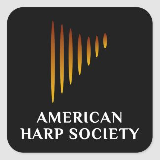 AHS Logo Black Stickers