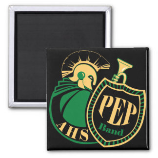 AHS Pep Band 2 Inch Square Magnet