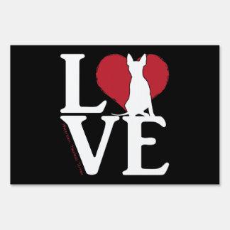 AHT LOVE Yard Sign