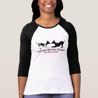 "AHT ""We Play"" Women's Raglan 3/4 Sleeve Shirt"
