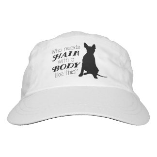 "AHT ""Who needs hair?"" Hat"