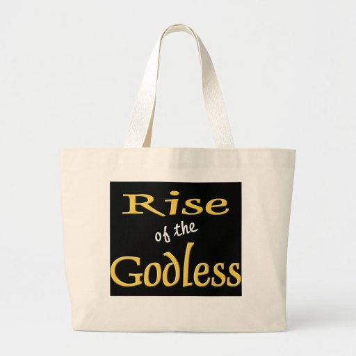 AHTEISM AND SECULAR COALITION CANVAS BAGS