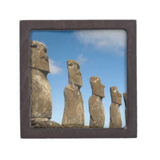 Ahu Akivi, Rapa Nui, Easter Island, Chile 2 Keepsake Box