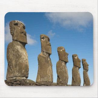 Ahu Akivi, Rapa Nui, Easter Island, Chile 2 Mouse Pad