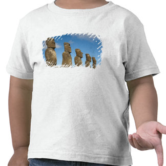 Ahu Akivi, Rapa Nui, Easter Island, Chile 2 T Shirt