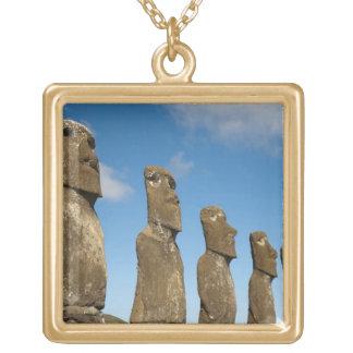 Ahu Akivi, Rapa Nui, isla de pascua, Chile 2 Pendiente Personalizado