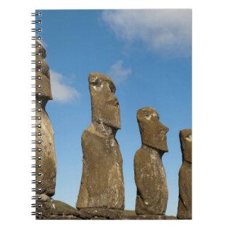 Ahu Akivi, Rapa Nui, isla de pascua, Chile 2 Cuaderno