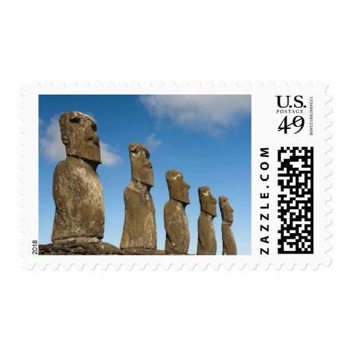 Ahu Akivi, Rapa Nui, isla de pascua, Chile 2 Franqueo