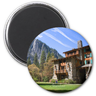 Ahwahnee 2 Inch Round Magnet