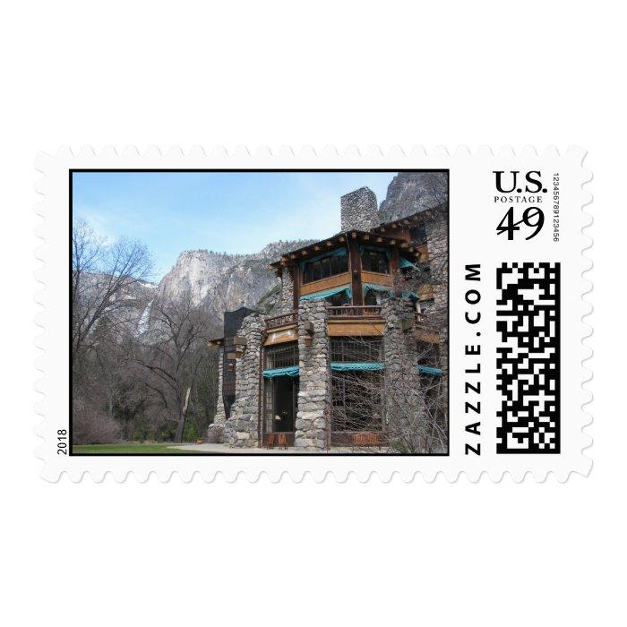 Ahwahnee Hotel- Yosemite Stamp
