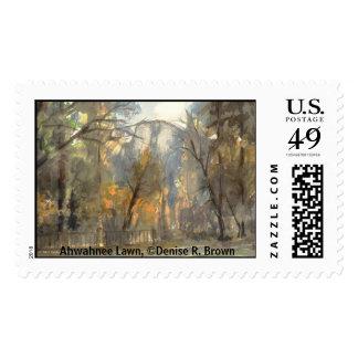 Ahwahnee Lawn Postage