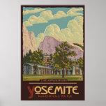 Ahwahnee Lodge - Yosemite Nat'l Park Travel Poster