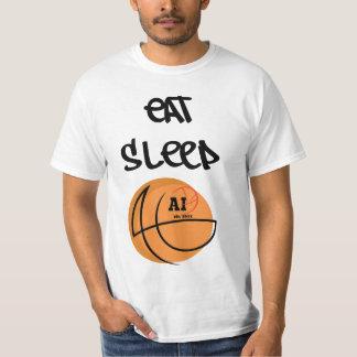 AI - Eat Sleep: Basic T-Shirt