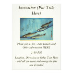 Ai (Trout) - Hiroshige's Japanese Fish Print Personalized Announcements