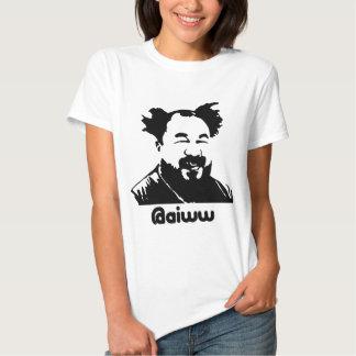 Ai Weiwei @aiww Twitter Ladies T-Shirt