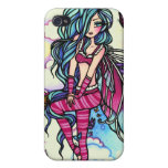 Aia Fairy Butterfly Sky Fairy Covers For iPhone 4