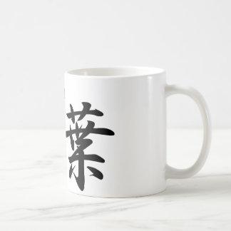 aiba classic white coffee mug