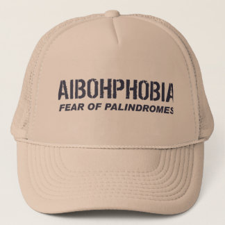 AIBOHPHOBIA TRUCKER HAT