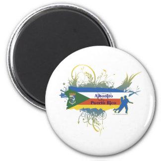 Aibonito - Puerto Rico 2 Inch Round Magnet