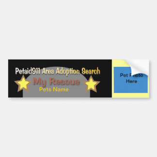 Aid911 Adoption Search Volunteers Wanted Bumper Sticker