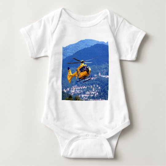 Aid Air Aircraft Assistance doctor Baby Bodysuit