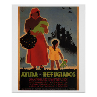 Aid to refugees (1938)_Propaganda Poster