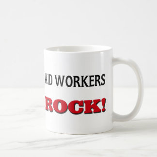 Aid Workers Rock Classic White Coffee Mug