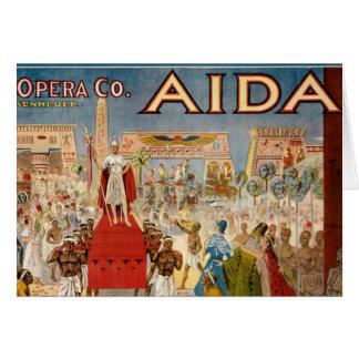 Aida at the Hippodrome 1908 Card