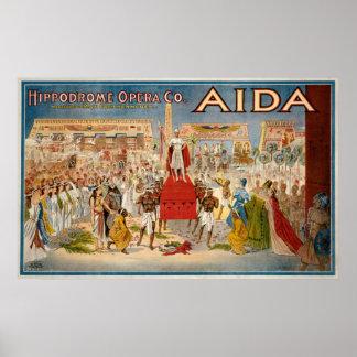 Aida de Giuseppe Verdi Posters