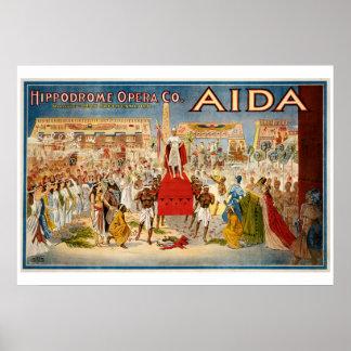 Aida Opera poster 1898