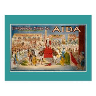Aida Opera Vintage Performance 1908 Postcard