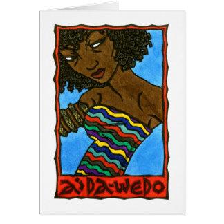 Aida-Wedo Card