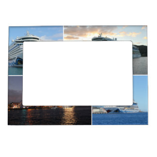 AIDAluna Cruise Ship Collage Magnetic Picture Frame