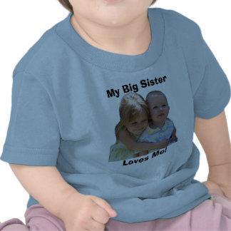 aidan 3, My Big Sister, Loves Me! Tees