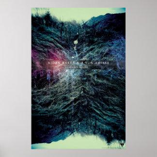 Aidan Baker & A-Sun Amissa - Scarpe Sensée 24x36 Poster