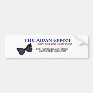 Aidan Effect Bumper Sticker