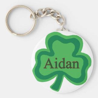 Aidan Irish Name Keychains