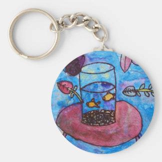 Aidan Rion Basic Round Button Keychain