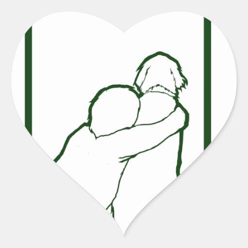 Aidan's Fund Gear Heart Stickers