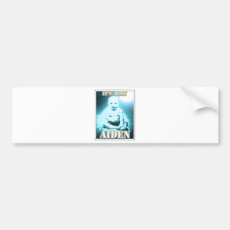 AIDEN BUMPER STICKER