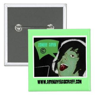 Aiden Zombie Pinback Button
