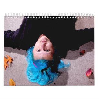 Aiden's face calendar