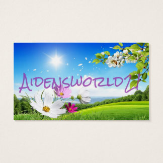 Aidensworld21 Business Card
