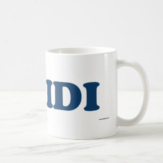 Aidi Blue Coffee Mug