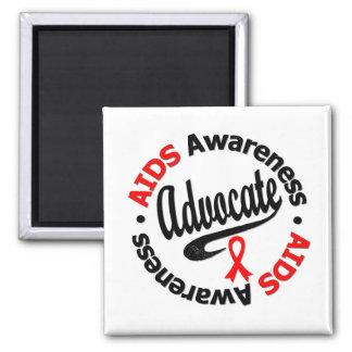 AIDS Advocate Fridge Magnet