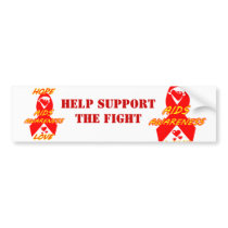 AIDS Awareness#3_ Bumper Sticker