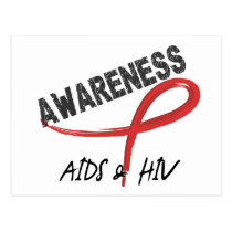 AIDS Awareness 3 Postcard