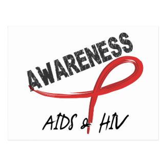 AIDS Awareness 3 Postcard