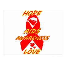 AIDS Awareness#3_ Postcard
